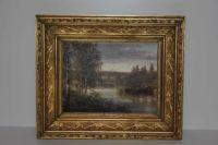 Oljemålning från slutet av 1800 – talet